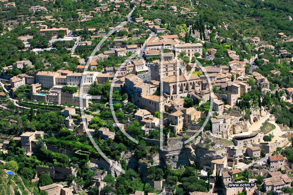 Photo aérienne - Gordes