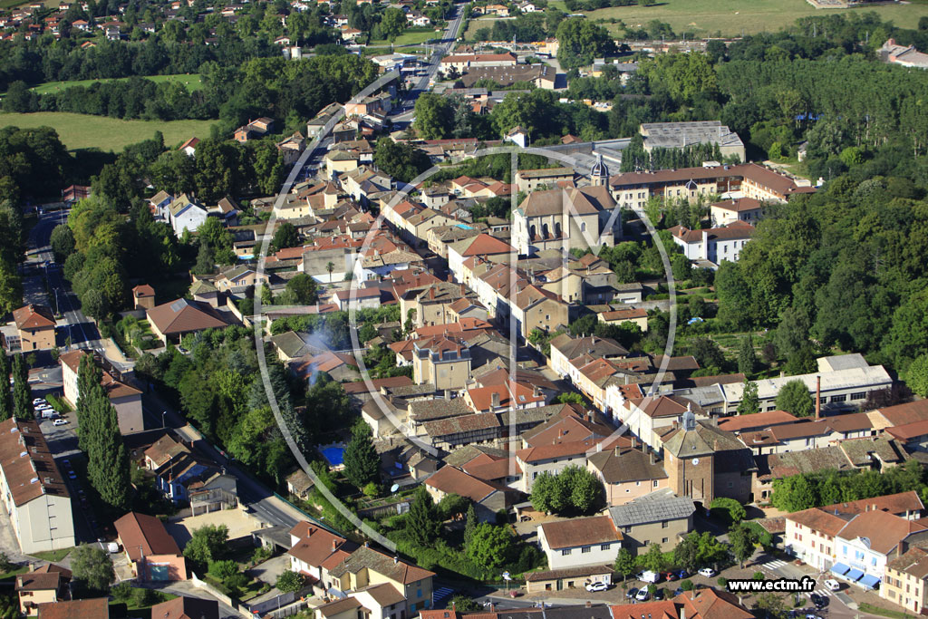Photo aérienne - Pont-de-Veyle