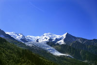 - photo - Mont-Blanc (Glacier des Bossons)