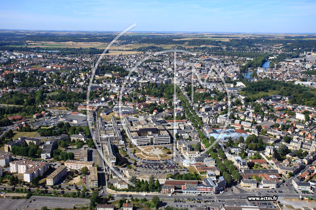 Photo aérienne - Soissons